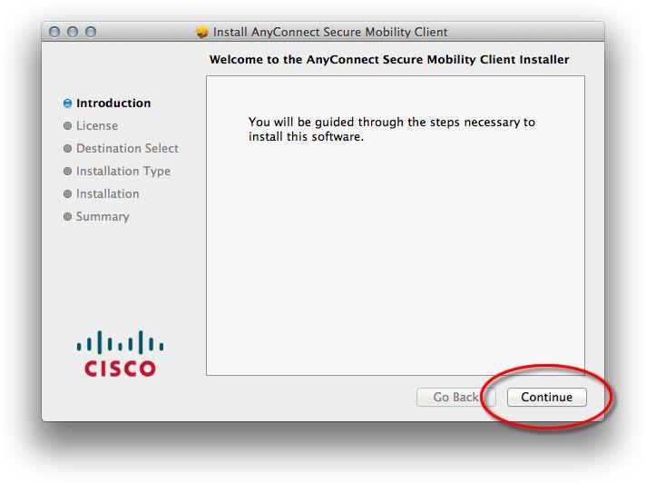 Anyconnect mac 10.15